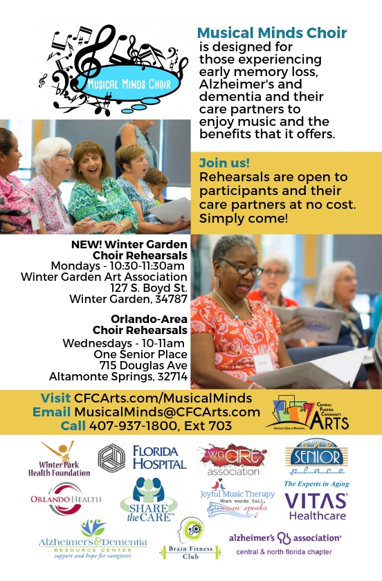 Senior Care Altamonte Springs FL - Musical Minds Choir for Alzheimer's & Early Memory Loss
